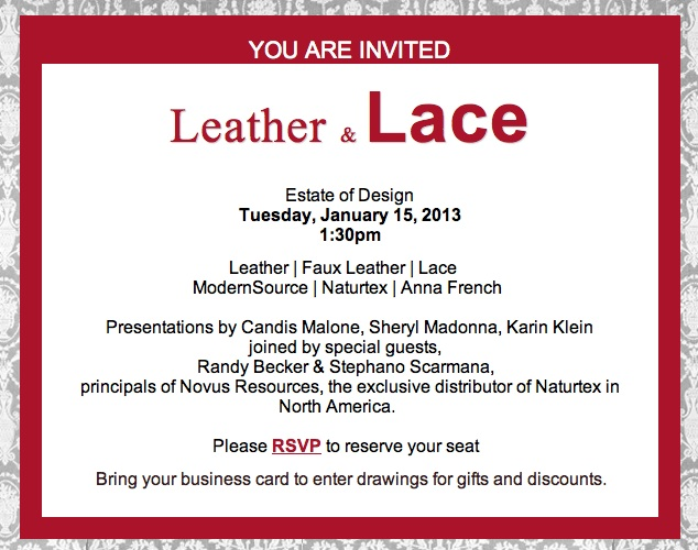 Leather & Lace 2013